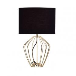 Ecletic Table Lamp hilo alambre white/Black
