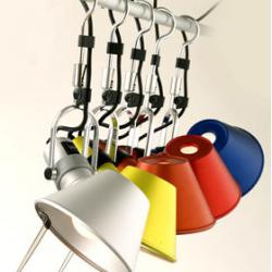 Tolomeo Hook Aplique Rojo