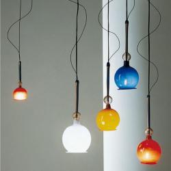 Fenice 8 Lámpara Colgante con transformador Verde