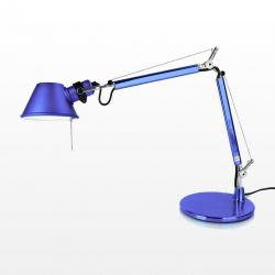 Tolomeo Micro (with table base) Halogen E14 1x46w - Anodized blue
