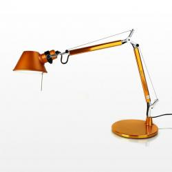 Tolomeo Micro (with table base) Halogen E14 1x46w - Anodized bronze