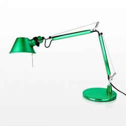Tolomeo Micro (with table base) Halogen E14 1x46w - Anodized green