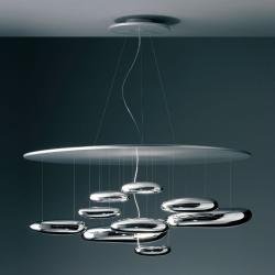 Mercury Pendant lamp R7s 2x160w Stainless steel