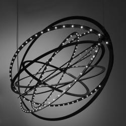 Copernico Suspension 104cm 38w LED 3000K Noir