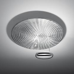 Droplet Mini Wall/Ceiling lamp 1x70w G8,5 metal halides Aluminium/Chrome