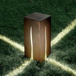 Granito Outdoor Floor Lamp 60cm granito metal halide
