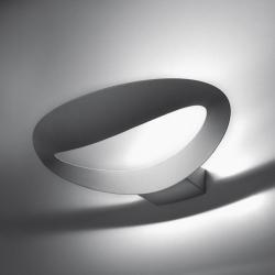 Mesmeri Wandleuchte Halogenmetalldampflampe G8,5 1x35w Silber