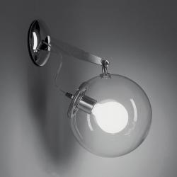 Miconos Aplique 20W Difusor Cristal Transparente.