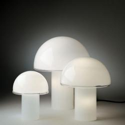 Onfale Lampe de table Moyen blanc
