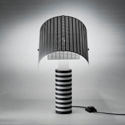 Shogun Lâmpada de mesa Preto/branco