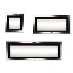 Faci 12 Built-in Wall lamp LED 3000K Chrome