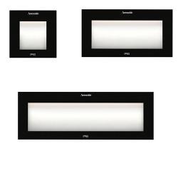 Faci 12 Glass Recessed LED 3000K