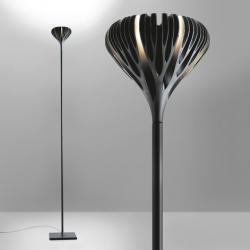 Florensis Lámpara de Pie LED 44.5w negro