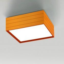 Groupage 45 ceiling lamp orange LED