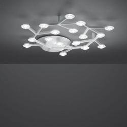 LED Net Plafón Circular LED 43W regulable - blanco Brillante