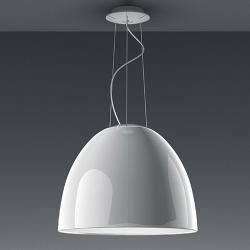 Nur Gloss Mini Pendant lamp Grey anthracite