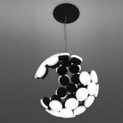 Scopas lampe Suspension LED 63w blanc/Noir