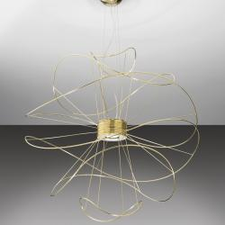 Hoops Pendant Lamp 6 Gold