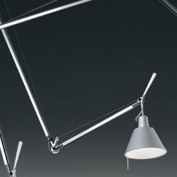 Tolomeo Sospensione Decentrata (Accessory) Diffuser - Aluminium
