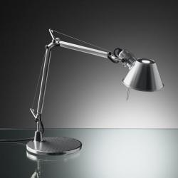Tolomeo Micro (with table base) Halogen E14 1x46w - Bright Aluminium