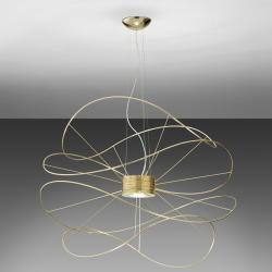 Hoops Pendant Lamp 4 Gold
