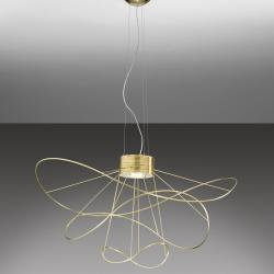 Hoops Pendant Lamp 3 Gold