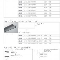 Flap Accessoire Sistema tija de suspension pour photos avec Crochet mobil 500mm