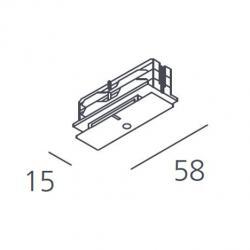 Track Trifásico of Surface Accessory junta interMedium white