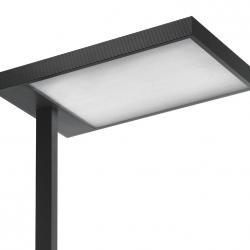 Kalifa lámpara de Lampadaire Prismoptic Isolux TC L 2G11 4x55w dimmer interactivo dali blanc
