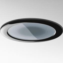 Luceri 220 Downlight Empotrado TC-DEL 2x18w + Cristal serigrafiado gris