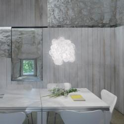 Blum Applique/plafonnier blanc E26