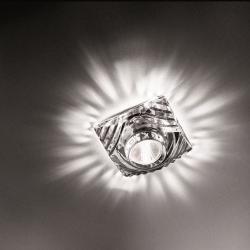 Crystal Spotlight Mencar 8cm Gy6.35 1x35w without transformador Glass of Bohemia