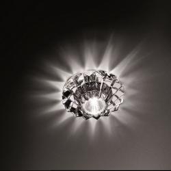 Crystal Spotlight Nashira ø9.5cm Gy6.35 1x35w senza transformador Vetro di Bohemia