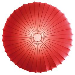 Muse 80 ceiling lamp E27 3x23w Red