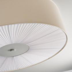 Skin 70 ceiling lamp E27 E27 2x20W fluo (Lightecture)