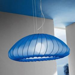 Muse Lámpara Colgante E27 1x150w Azul Oscuro