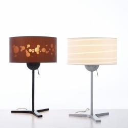 Nina Lampe de table blanc/Gris