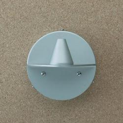 Petite Accesorio Soporte de Pared E para Aplique Conexión Oculta Aluminio Mate