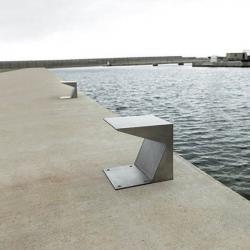 Noray Baliza Exterior LED 2x6,3W - acero inoxidable