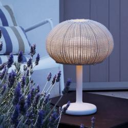 Garota - Mini (Solo Structure) Table Lamp Outdoor without lampshade LED 9w White Roto