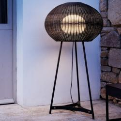 Garota - P 02 (Solo Structure) Floor Lamp Outdoor without lampshade E27 22w White Roto