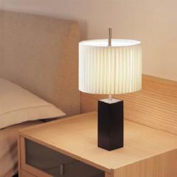 Mani - table (Solo Structure) Table Lamp without lampshade E27 46w Nickel white Lacado