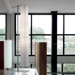 Maxi - 02 (Solo Structure) Floor Lamp without lampshade E27 46w níquel Satin