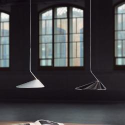 Nón Lá - S Lámpara Colgante 10,5w LED TRIAC Cromo