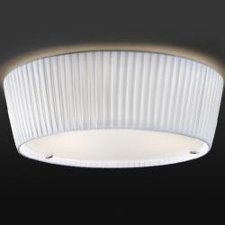 Plafonet - 01 Fonda Europa ceiling lamp E27 46w Inox-Cotonet white