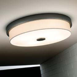 Rondo - F (Solo Structure) ceiling lamp without lampshade 55w T5 Níquel Satin