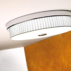 Rondo - I (Solo Structure) ceiling lamp without lampshade E14 46w Nickel Satin