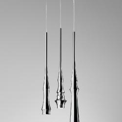 Slend - Set 3 (accesorio) Florón rectangular Cromo