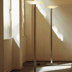 Augusta lámpara of Floor Lamp Aluminium pulido