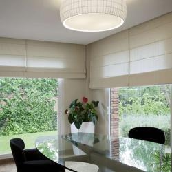 Isamu ceiling lamp ø53cm lampshade black